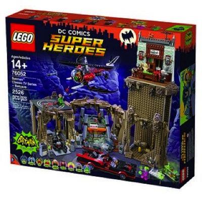 レゴバットマン名作TVシリーズ-バットケイブ76052 LEGO Super Heroes Classic Batcave 76052・お取寄