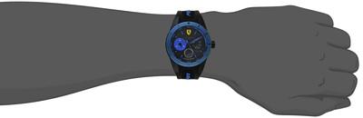 フェラーリメンズ腕時計0830256 REDREV TウオッチブラックFerrari Men's 0830256 REDREV T Watch・お取寄