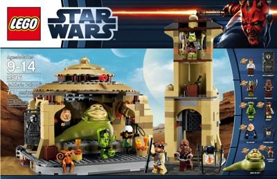 レゴスター・ウォーズ9516ジャバの宮殿LEGO Star Wars 9516 Jabba's Palace・お取寄