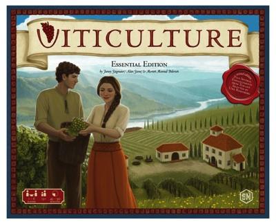 ヴィティカルチャー エッセンシャルエディション ボードゲーム Viticulture Essential Edition ぶどう栽培・お取寄