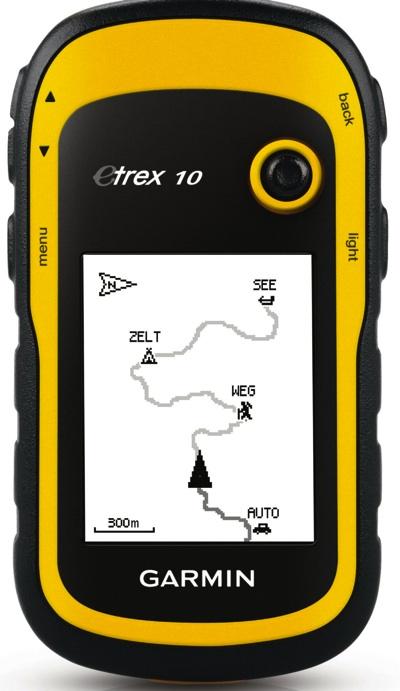 Garmin ガーミン eTrex 10 ハンディーGPSナビゲーション Handheld GPS Navigator 軽量 コンパクト・お取寄