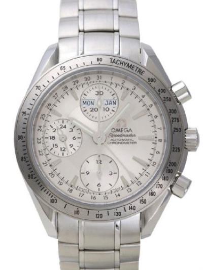 [オメガ]OMEGA 腕時計 スピードマスター 3221.30 シルバー文字盤 自動巻 100M防水 メンズ・お取寄