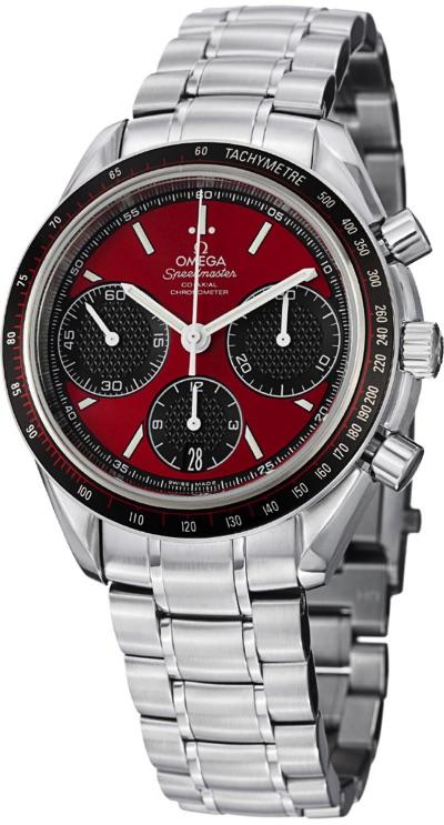 [オメガ] OMEGA 腕時計 スピードマスター・レーシング 326.30.40.50.11.001 レッド(インダイヤル:ブラック) メンズ・お取寄