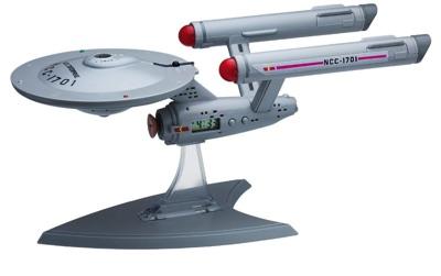 Underground Toys(アンダーグラウンド・トイズ) U.s.s. Enterprise Projection Alarm Clock スター・トレック エンタープライズ NCC-1701 投影式目覚まし時計・お取寄