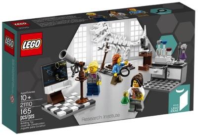 LEGO レゴ 21110 科学者の研究所 Research Institute・お取寄
