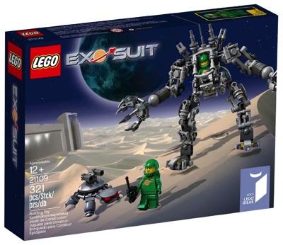 LEGO レゴ エキソスーツ 21109 EXO SUIT Cuusoo 宇宙服・お取寄