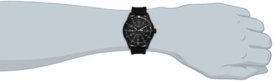 [タイメックス]TIMEX エレベーテッド・クラシック ブラックダイアル ブラックシリコンストラップ T2P383 メンズウォッチ 腕時計・お取寄