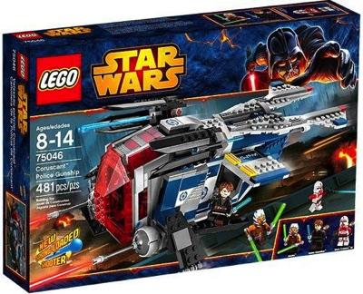 LEGO(レゴ) Star Wars Coruscant Police Gunship スターウォーズコルサント警察ガンシップ - 75046・お取寄