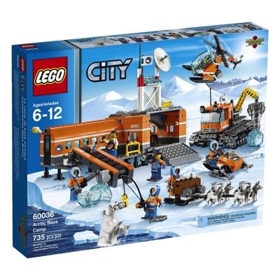 LEGO(レゴ) City Arctic Base Camp シティ スノーベースキャンプとクローラードリル - 60036・お取寄