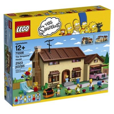 LEGO(レゴ) Simpsons The Simpsons House ザ・シンプソンズ ハウス - 71006・お取寄