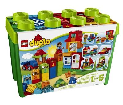 LEGO(レゴ) DUPLO My First Deluxe Box of Fun デュプロ みどりのコンテナスーパーデラックス - 10580・お取寄