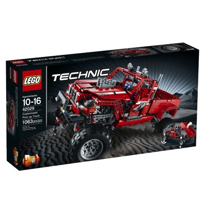 LEGO(レゴ) Technic Customized Pick Up Truck テクニック ピックアップトラック - 42029・お取寄