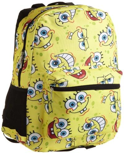 スポンジボブ ★ リュック バックパック Nickelodeon Big Girls' SpongeBob Allover Print Backpack・お取寄