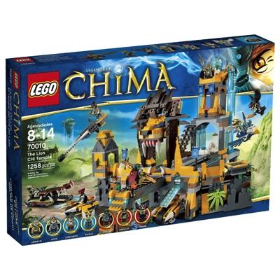LEGO(レゴ) Chima 70010 The Lion CHI Temple チーマ 正義のライオン神殿 - 70010・お取寄