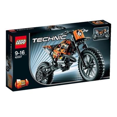 LEGO(レゴ) Technic Moto Cross Bike テクニック モトクロスバイク - 42007・お取寄