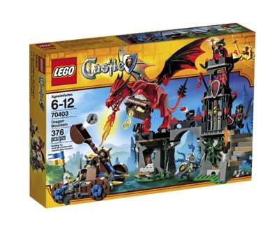 LEGO(レゴ) Castle Dragon Mountain キャッスル ドラゴン・マウンテン - 70403・お取寄