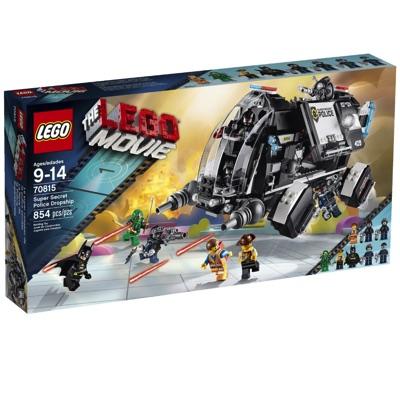 LEGO(レゴ) Movie Super Secret Police Dropship ムービー 超秘密警察のドロップシップ - 70815・お取寄
