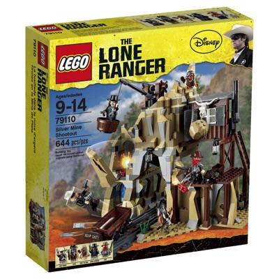 LEGO(レゴ) The Lone Ranger Silver Mine Shootout ローンレンジャー 銀の鉱山での決戦 - 79110・お取寄