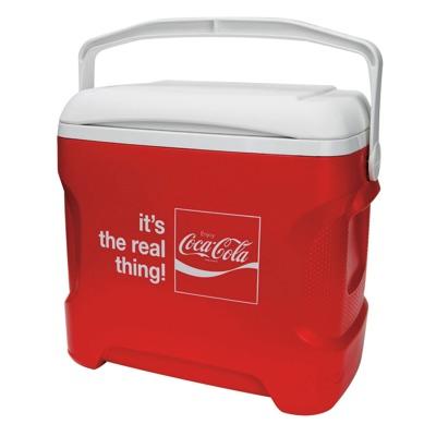 イグルー 28.4リットル コカコーラ クーラーボックス Igloo 30 Quart Coca-Cola Series Contour Cooler・お取寄