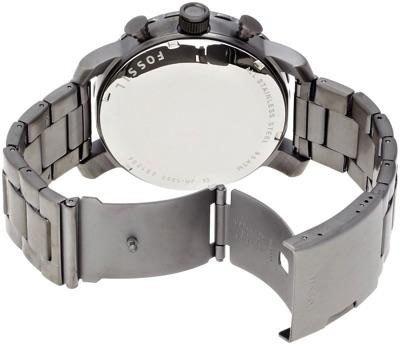 フォッシル FOSSIL NATE JR1355 ウッドパターンダイヤル メンズ 腕時計・お取寄