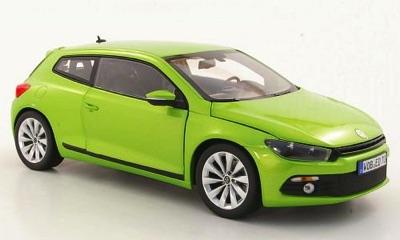 1/18 VW シロッコIII 2.0 TSI グリーン ミニカー フィギュア VW特注 フォルクスワーゲン VW Scirocco 3 met light green 2008, Model Car・お取寄