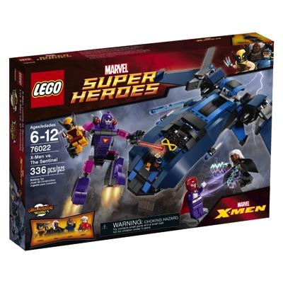 LEGO(レゴ) Superheroes X-Men vs The Sentinel スーパー・ヒーローズ X-メンvsセンチネル - 76022・お取寄