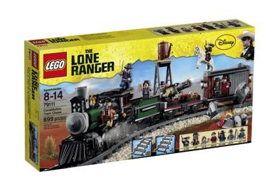LEGO(レゴ) The Lone Ranger Constitution Train Chase ローンレンジャー トレインチェイス - 79111・お取寄