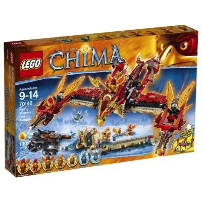 LEGO(レゴ) Chima Flying Phoenix Fire Temple チーマ 空飛ぶファイヤー神殿 - 70146・お取寄