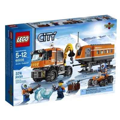 LEGO(レゴ) City Arctic Outpost シティ アイスベーストラック - 60035・お取寄