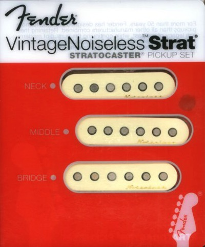 Fender フェンダー Vintage Noiseless Stratocaster Pickups Set ヴィンテージノイズレスストラトキャスターピックアップセット ホワイト・お取寄