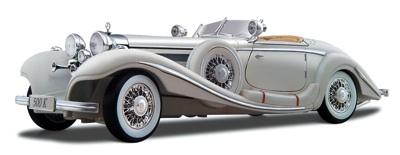 マイスト1:18スケール1936メルセデスベンツ500 K型スペシャルロードスターダイカスト車両Maisto 1:18 Scale 1936 Mercedes-Benz 500 K Type Specialroadster・お取寄