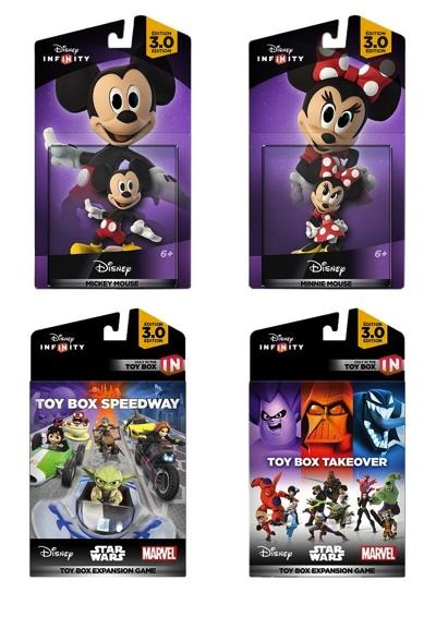 ディズニー インフィニティ 3.0 ミッキーとミニーのエクスパンションゲーム バンドル版 Disney Infinity 3.0 Edition: Mickey and Minnie Game Expansion Bundle・お取寄