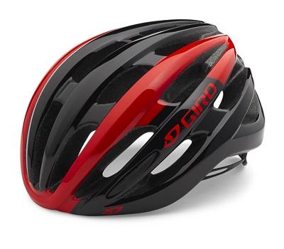 Giro ジロ フォーレイ サイクリングヘルメット レッド/ブラック Sサイズ Foray Helmet Red/Black 自転車・お取寄