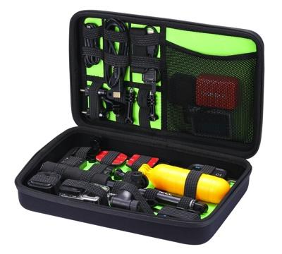 GoPro互換品 Luxebell トラベルキャリーケース カメラ・アクセサリ収納用 Travel Organizer Carry Case GC600・お取寄