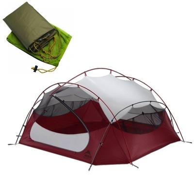 最高の品質の MSR エムエスアール アウトドア パパハバ NX 4人用テント パパハバ フットプリントセット エムエスアール Papa Hubba NX 4-Person Tent アウトドア キャンプ・お取寄, Treasure-Store:6e746c89 --- lexloci.com.br