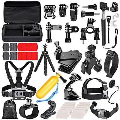 Neewer ニーワー 58-in-1 GoPro互換品 アクセサリーキット 各種マウント/ストラップ/工具 Neewer 58-in-1 Sport Accessory Kit for GoPro・お取寄