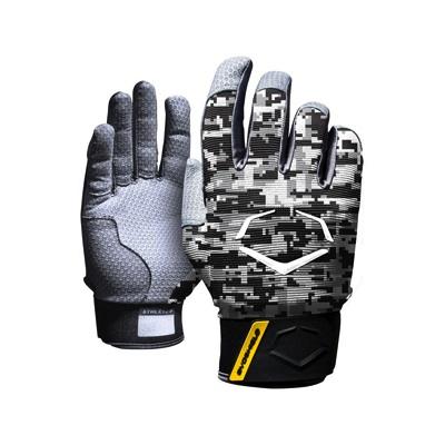 EvoShield エボシールド 野球打者用 プロスタイルバッティンググローブ ブラック/グレー XXLサイズ 手袋 Prostyle Batting Gloves BLACK/GREY・お取寄