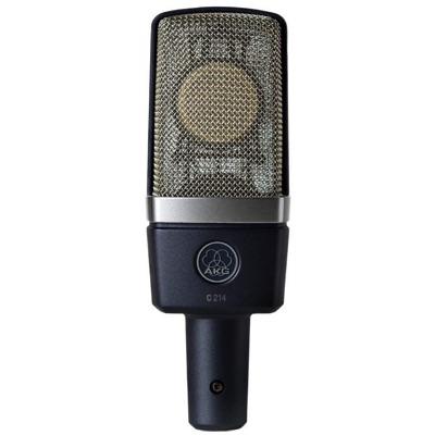 AKG エーケージー C214 Condenser Microphone コンデンサーマイク カーディオイド アーカーゲー コンデンサーマイクロフォン・お取寄