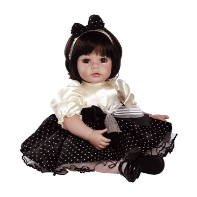 【ふるさと割】 Adora アドラ Girly Girl ガーリーガール 20 ベビードール 20インチ 約51cm ダークブラウンの髪色 ベビードール アドラ ブラウンの目 Baby Doll 20 Inch 赤ちゃん人形・お取寄, ナバリシ:6b38a2eb --- canoncity.azurewebsites.net