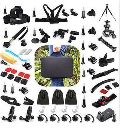 GoPro互換品 ProGear アクセサリ50点セット Lサイズキャリーケース入り Accessories Mount Bundle With Large Carrying Case BDL-50・お取寄