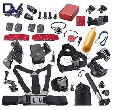 GoPro互換品 ProGear アクセサリ40種セット Accessories Mount Bundle BDL-30・お取寄