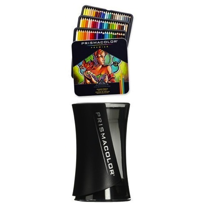 Prismacolor プリズマカラー 色鉛筆 72色 シャープナー付 Prismacolor Premier Colored Pencils 72 Pack with Pencil Sharpener 3599TN 1786520・お取寄