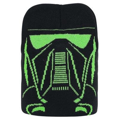 スターウォーズ ローグワン 帝国軍デス・トルーパー ニット帽 ベニー帽 メンズ Star Wars Rogue One Beanie Imperial Guard CODI Beanies Caps 1791・お取寄