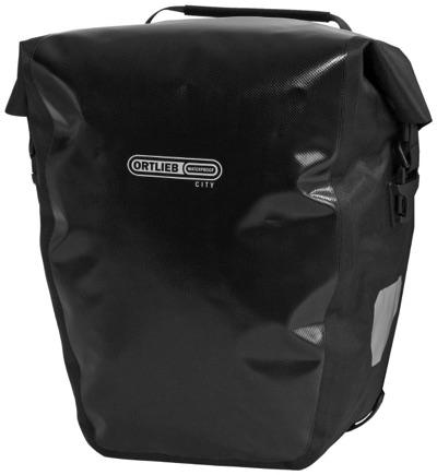 ORTLIEB(オルトリーブ) バックローラー シティ ブラック 40Lサイドバッグ・お取寄