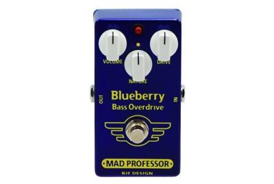 Mad Professor (マッド・プロフェッサー) Blueberry Bass ベースオーバードライブ・お取寄