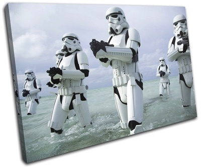 Star Wars Rogue One スターウォーズ ローグワン トルーパー キャンバスアート 壁掛けポスター Troopers Canvas Art Print Box Framed Picture Wall Hanging 約45 x 30 cm