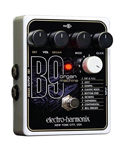 Electro Harmonix (エレクトロハーモニクス) B9 オルガンシュミレート エフェクター・お取寄