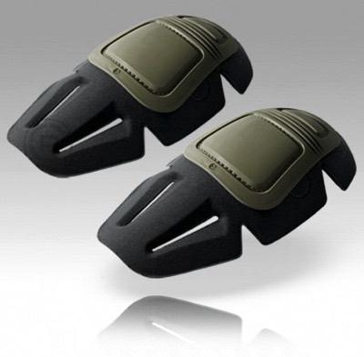 Crye Precision クレイプレシジョン エアフレックス コンバット ニーパッド 03 G3 グリーン Airflex Combat Knee Pads 03 G3 Green Set・お取寄