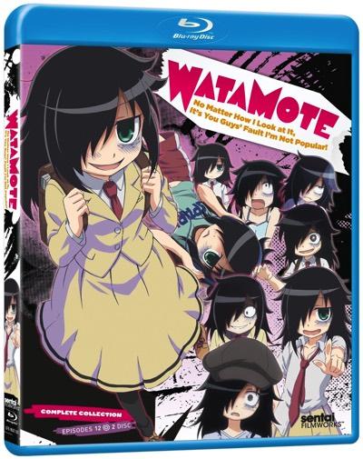 私がモテないのはどう考えてもお前らが悪い! コンプリート・コレクション ブルーレイ TVアニメ ワタモテ Watamote Complete Collection Blu-ray・お取寄