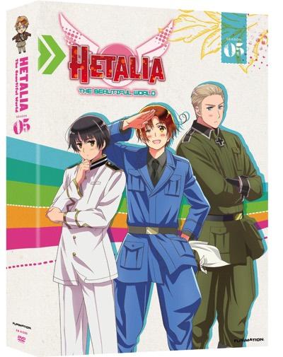 ヘタリア ザ・ビューティフル・ワールド 第5期 TVアニメ DVD Hetalia The Beautiful World Season 5・お取寄
